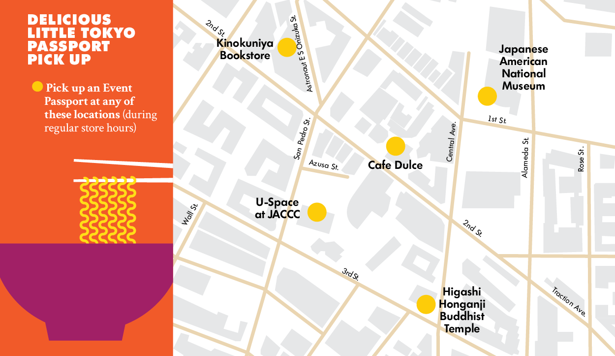 9 ways to jazz up the last weekend of July   89.3 KPCC Little Tokyo Parking Map on la live parking, hollywood walk of fame parking, santa monica parking, downtown parking,